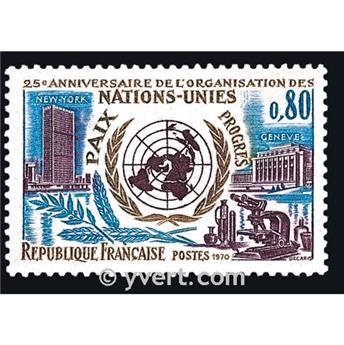 n.o 1658 -  Sello Francia Correos