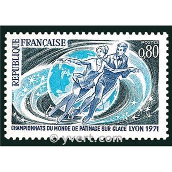 n.o 1665 -  Sello Francia Correos