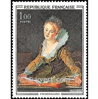 n° 1702 -  Selo França Correios