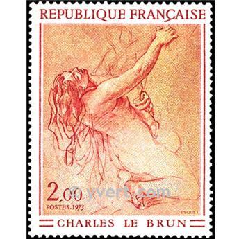 n° 1742 -  Selo França Correios