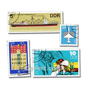 GERMANY: envelope of 200 stamps