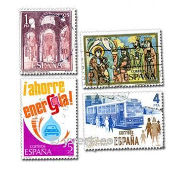 ESPAÑA: lote de 1000 sellos