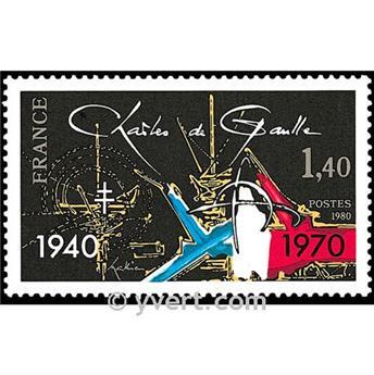 n.o 2114 -  Sello Francia Correos
