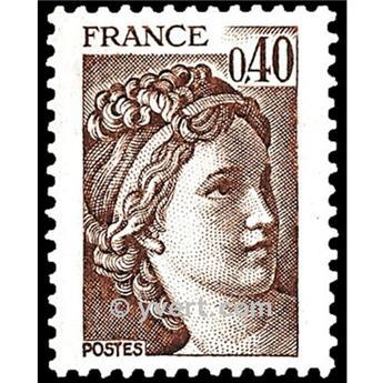 n° 2118 -  Selo França Correios