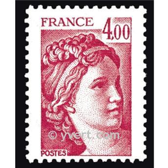 n° 2122 -  Selo França Correios
