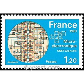 n.o 2126 -  Sello Francia Correos