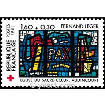 n° 2176 -  Selo França Correios