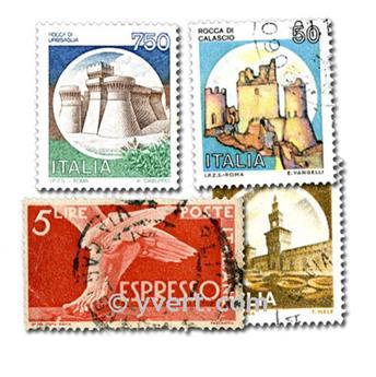 ITÁLIA: lote de 1000 selos