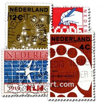 THE NETHERLANDS: envelope of 200 stamps