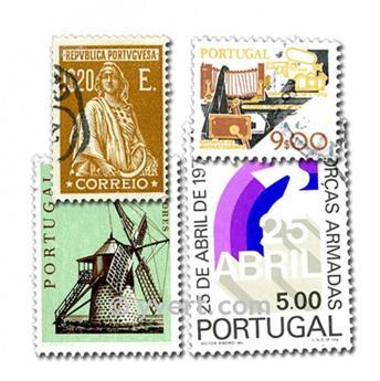 PORTUGAL: lote de 500 sellos
