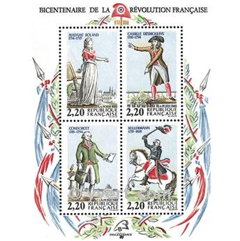 nr. 10 -  Stamp France Souvenir sheets