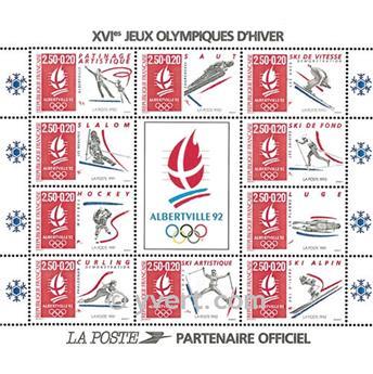 n° 14c -  Timbre France Bloc et feuillets