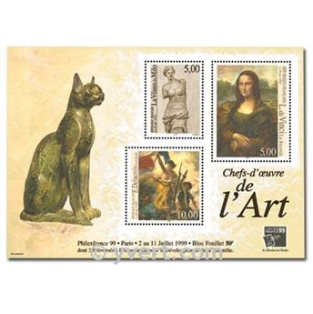 nr. 23 -  Stamp France Souvenir sheets