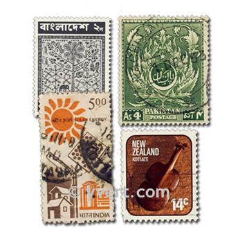 POSSESSÕES BRITÂNICAS: lote de 2000 selos