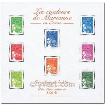 n° 45 -  Timbre France Bloc et feuillets