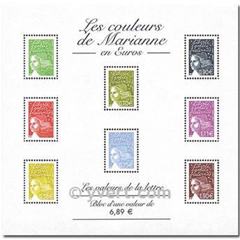 n° 67 -  Timbre France Bloc et feuillets