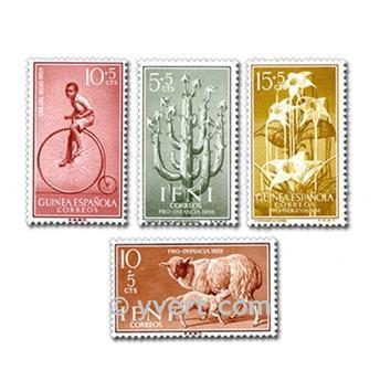 POSESIONES ESPAÑOLAS: lote de 200 sellos
