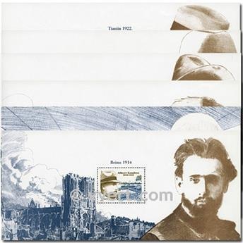 n° 17/22 -  Timbre France Blocs souvenirs