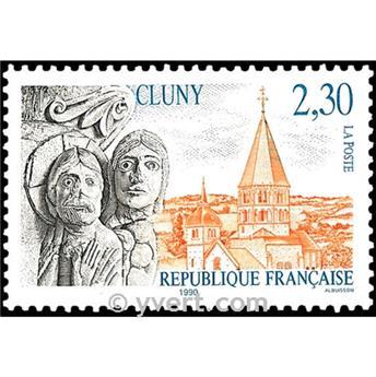 n° 2657 -  Selo França Correios