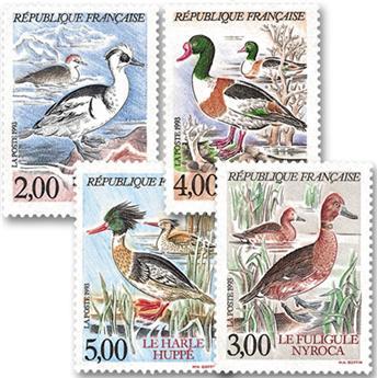 n.o 2785 / 2788 -  Sello Francia Correos