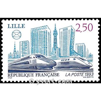 n° 2811 -  Selo França Correios