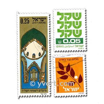 ISRAEL : pochette de 500 timbres
