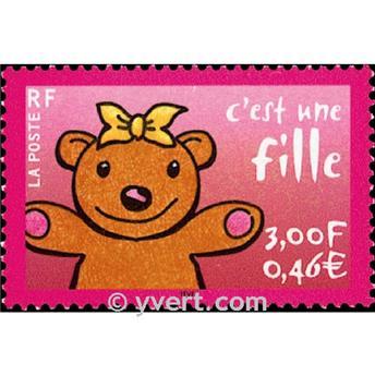 n° 3378 -  Selo França Correios