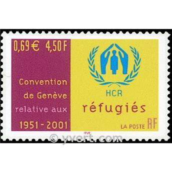 n.o 3416 -  Sello Francia Correos
