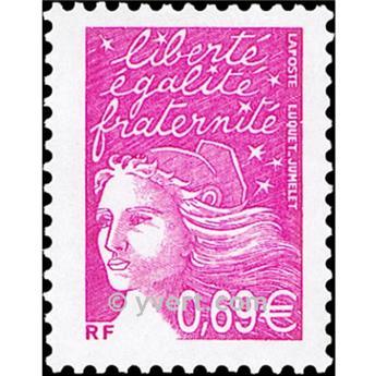 n.o 3454 -  Sello Francia Correos