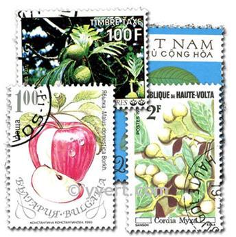 FRUTAS: lote de 200 selos