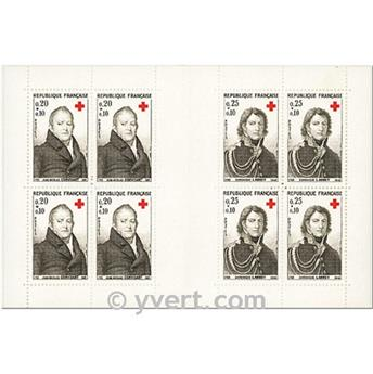 n° 2013 -  Selo França Carnets Cruz Vermelha