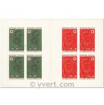 n° 2021 -  Selo França Carnets Cruz Vermelha