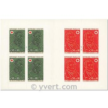 n° 2021 -  Timbre France Carnets Croix Rouge (1972)