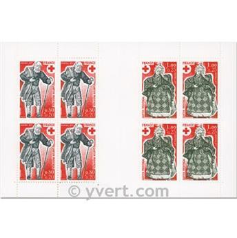 n° 2026 -  Selo França Carnets Cruz Vermelha