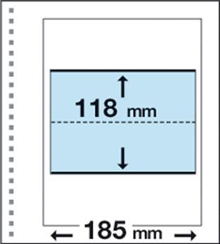 Recharges CK3 : 1 poche (118x185mm)