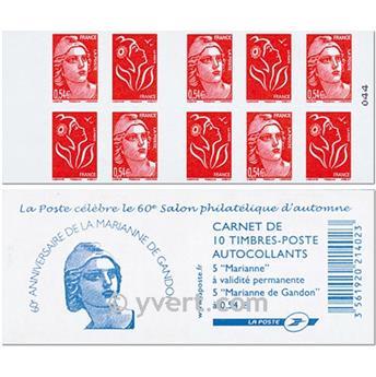 n° 1514 -  Selo França Carnets Diversos