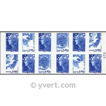 nr. 1517 -  Stamp France Miscellaneous Booklet panes