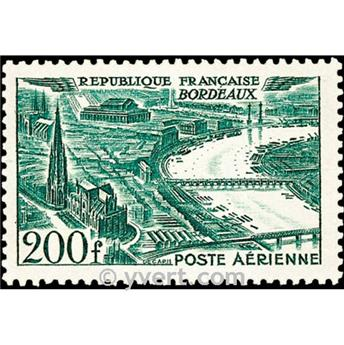 n° 25 -  Selo França Correio aéreo