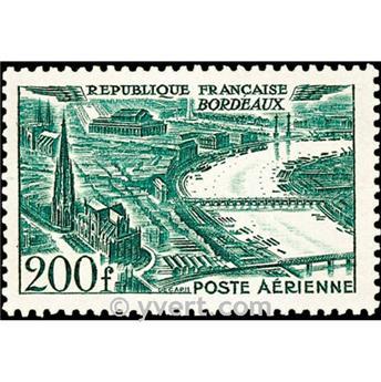 n° 25 -  Timbre France Poste aérienne