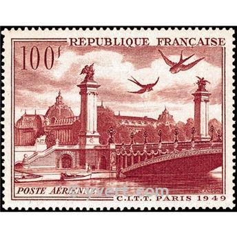 n° 28 -  Timbre France Poste aérienne