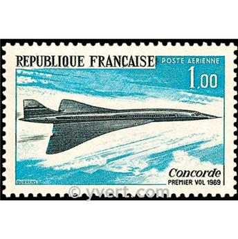 n° 43 -  Timbre France Poste aérienne