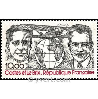 n° 55 -  Selo França Correio aéreo