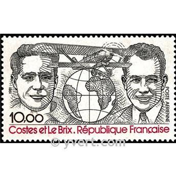 n° 55 -  Timbre France Poste aérienne