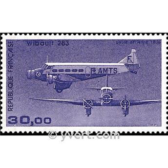 n° 59 -  Timbre France Poste aérienne