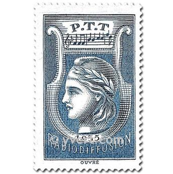 nr. 1 -  Stamp France Radio Revenue stamp