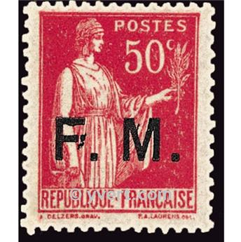 n° 7 -  Selo França Franquia postal