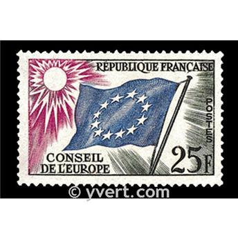 nr. 19 -  Stamp France Official Mail