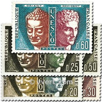 nr. 22/26 -  Stamp France Official Mail