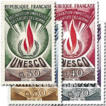 nr. 39/42 -  Stamp France Official Mail