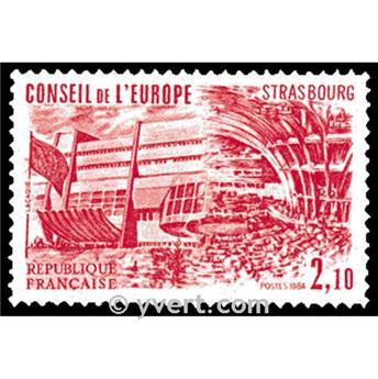 n° 83 -  Timbre France De service